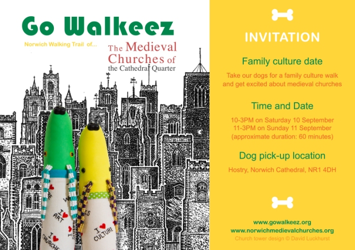 Go Walkeez medieval churches trail campaign 2