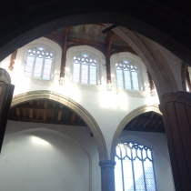 St Laurence clerestory